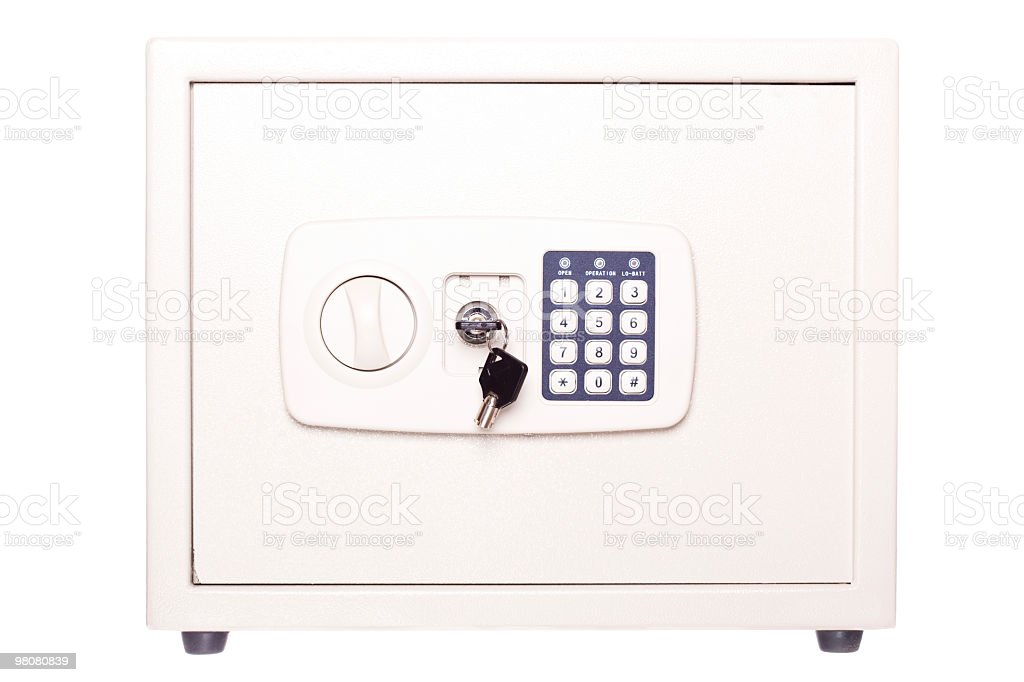 safe box royalty-free stock photo