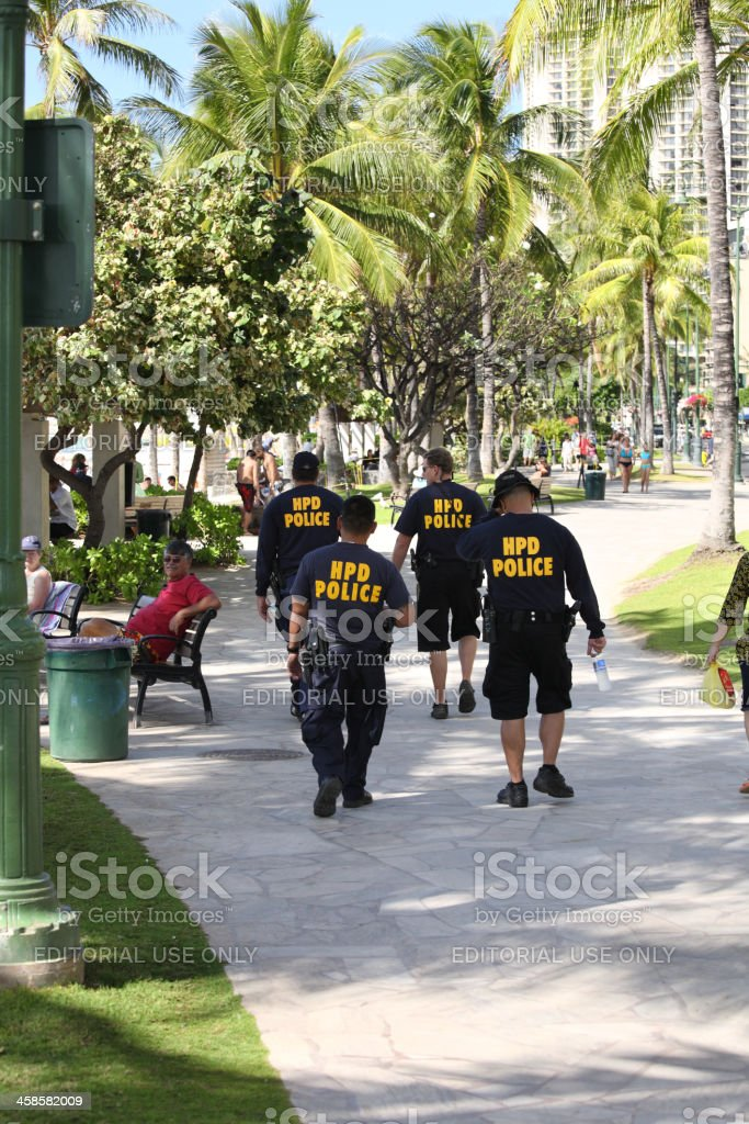 Safe city royalty-free stock photo