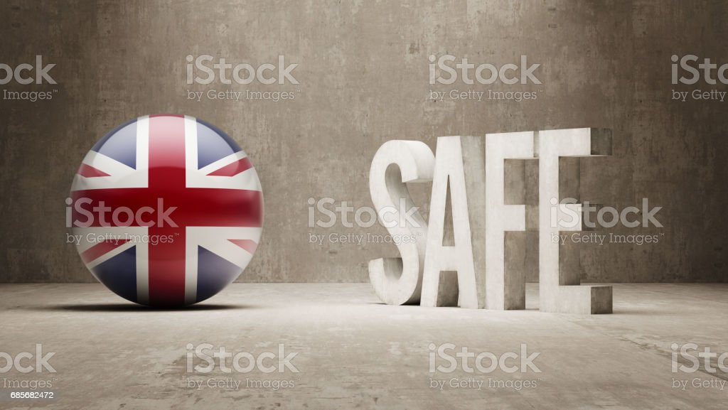 Safe Concept royalty-free stock photo