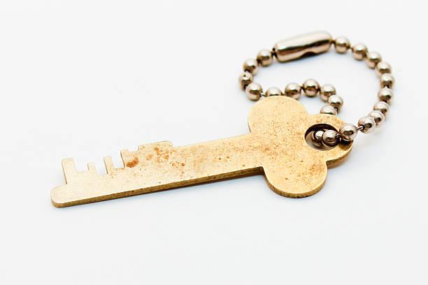 Safe Deposit Key stock photo