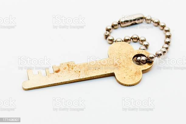 Safe Deposit Key Stock Photo - Download Image Now