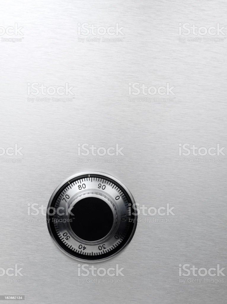 Safe Dial stock photo