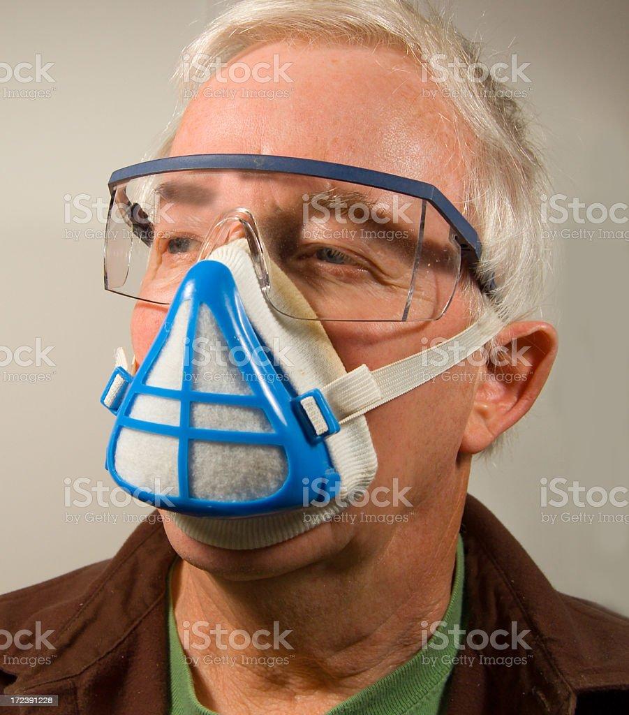 Safe Face? stock photo
