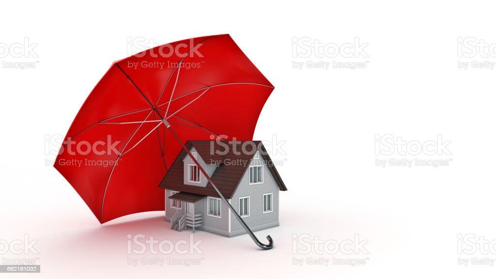 Safe House Concept. stock photo