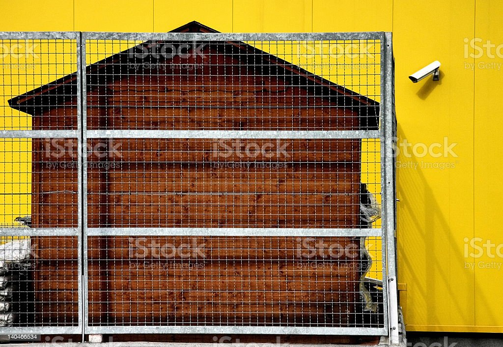 Safe House royalty-free stock photo
