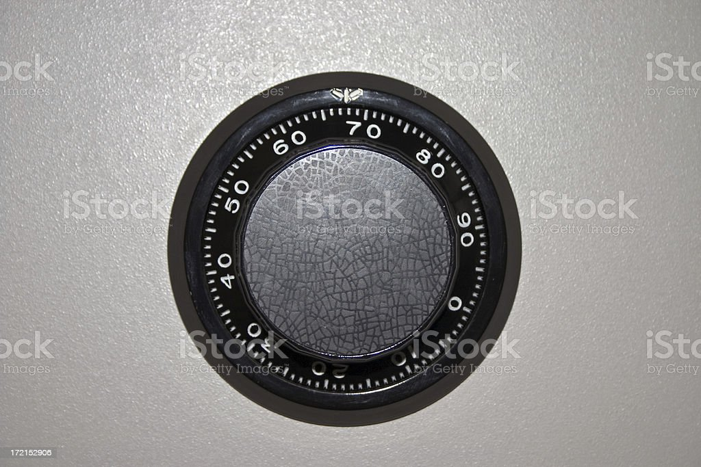 Safe lock royalty-free stock photo