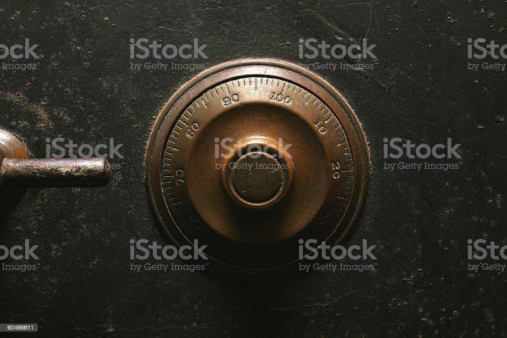 Safe, locker royalty-free stock photo