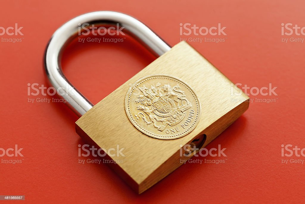 Safe Money stock photo