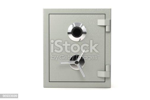 istock Safe on White 95933699