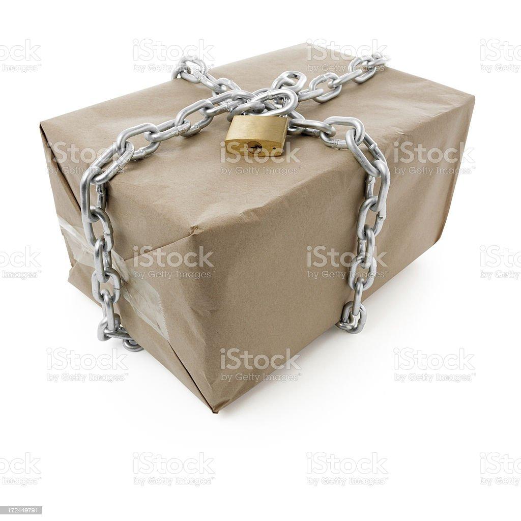 Safe parcel royalty-free stock photo