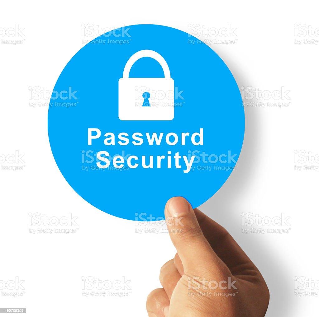 Safe password security stock photo
