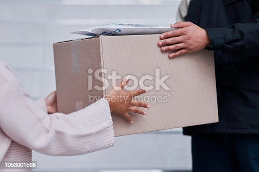 1053001624 istock photo Safe, secure, sealed and on time 1053001568