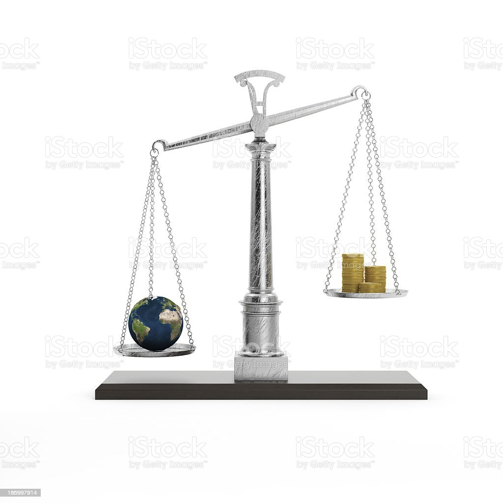 Safe the Earth. Concept of ecology. stock photo