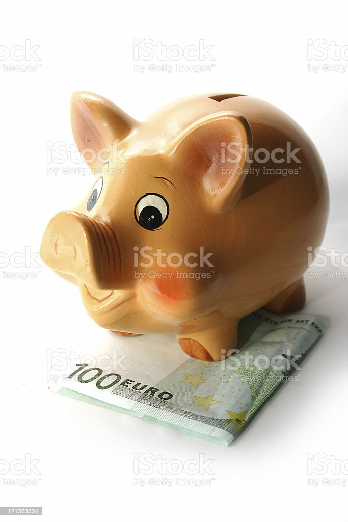 Safe under Your piggy bank royalty-free stock photo