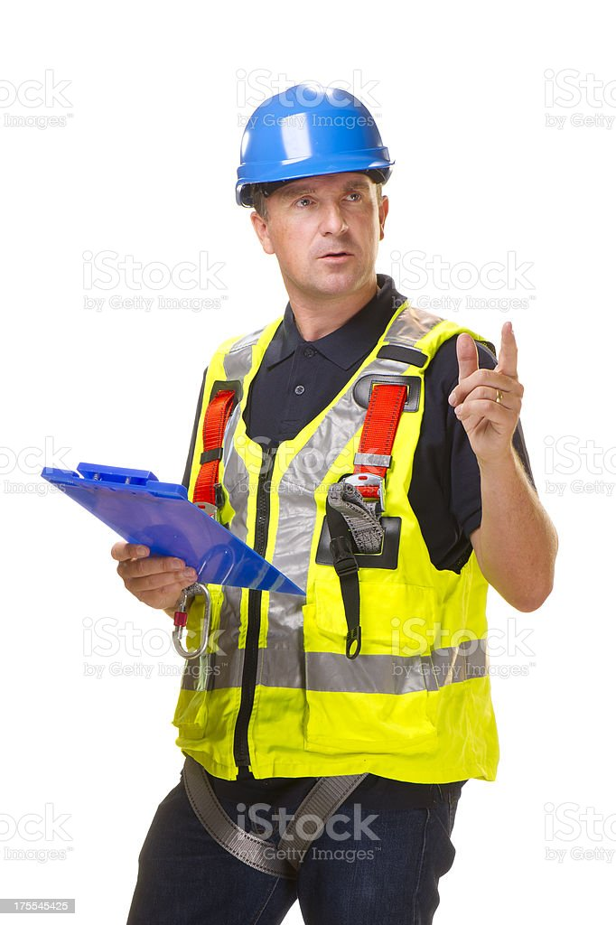 Adult construction worker