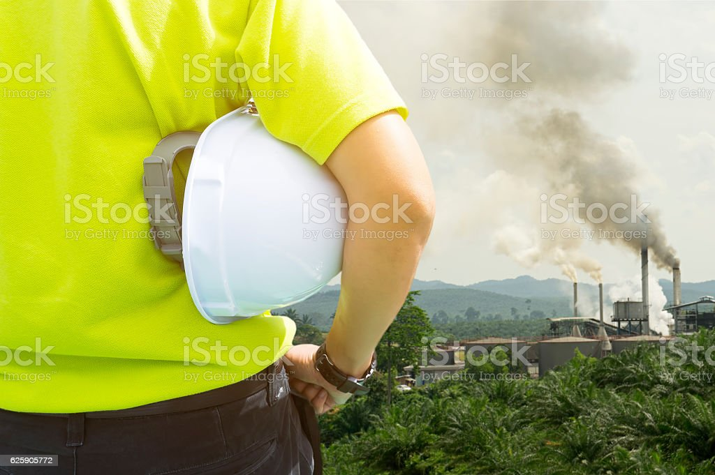 Safety and Health in workplace concept stock photo