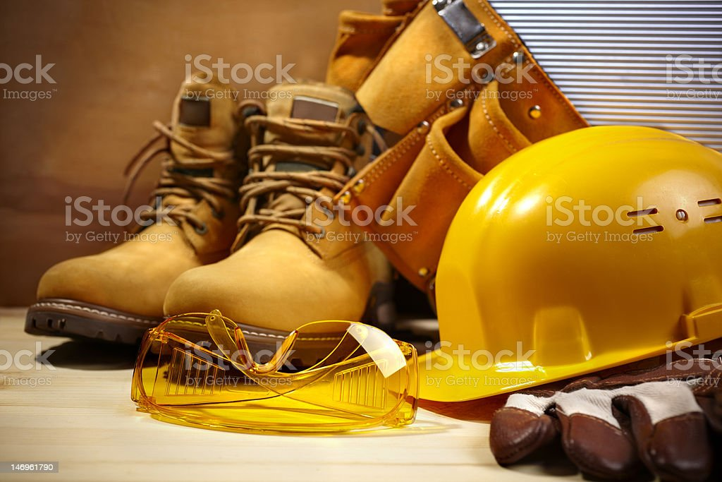 safety construction royalty-free stock photo