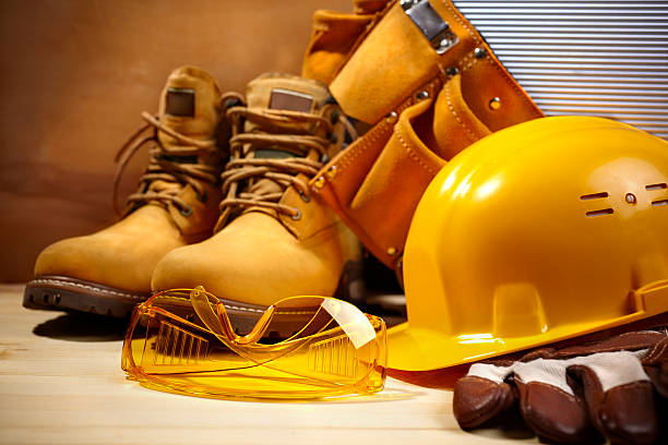 safety construction stock photo