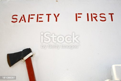 istock Safety first 181088351