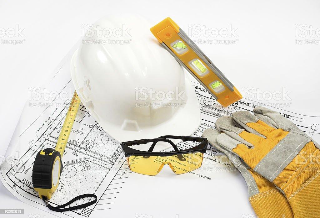 Sicherheitsausrüstung Lizenzfreies stock-foto