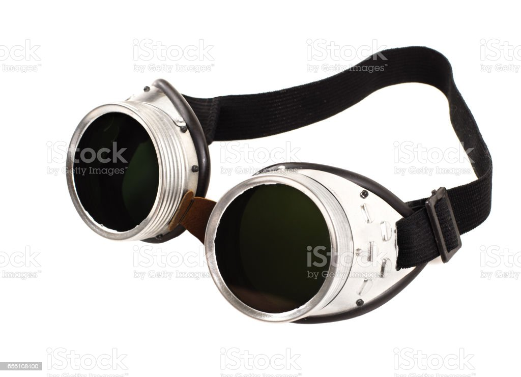 safety glasses stock photo