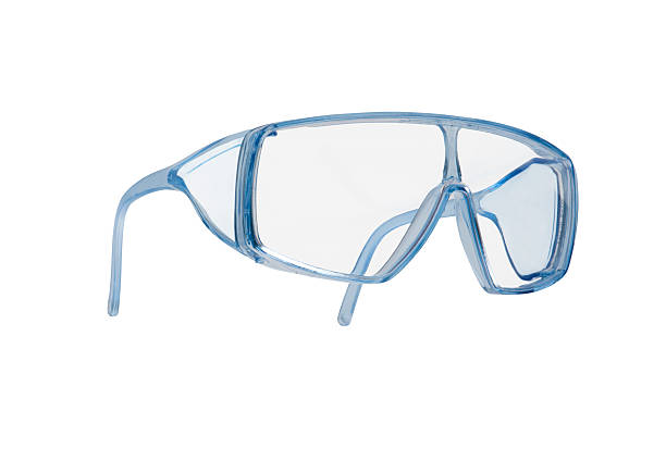 Safety glasses with clipping path  protective eyewear stock pictures, royalty-free photos & images