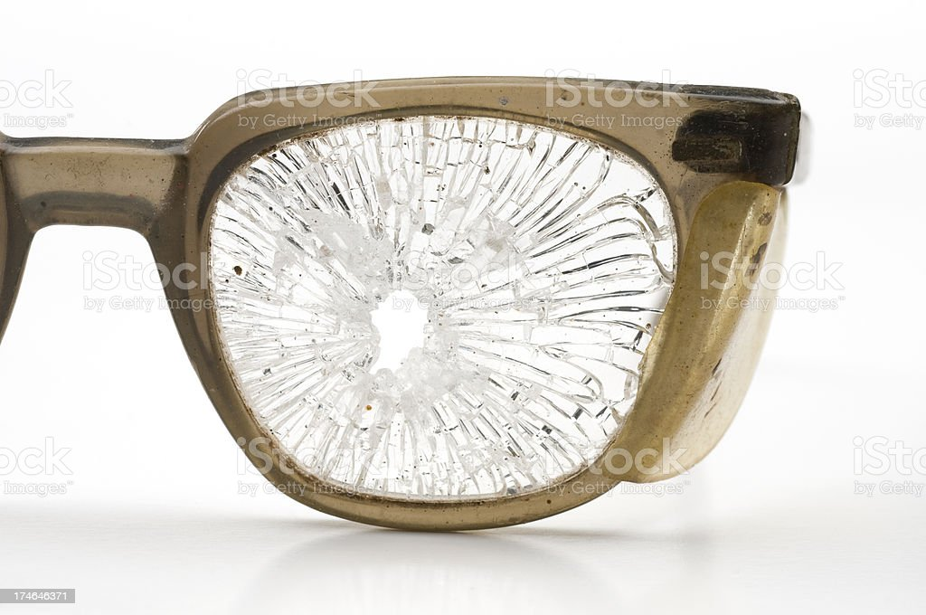 Safety glasses-close up stock photo