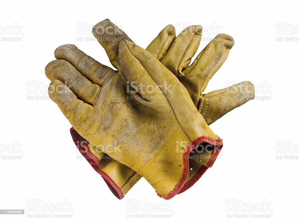 Safety Gloves stock photo