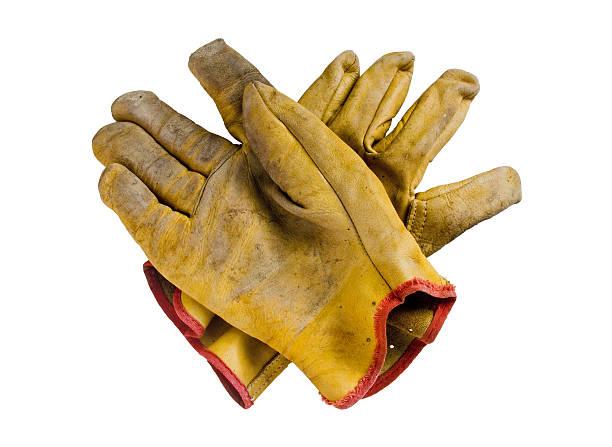 sicherheit-handschuhe - arbeitshandschuhe stock-fotos und bilder
