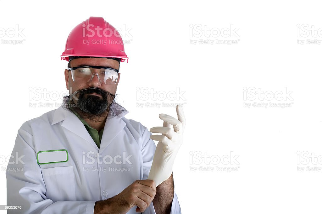 Safety gloves royalty-free stock photo