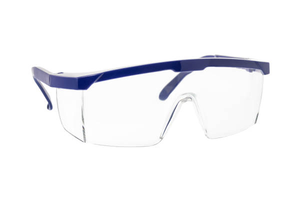 Safety goggles chemical Safety Goggles Glasses Isolated On White Background protective eyewear stock pictures, royalty-free photos & images