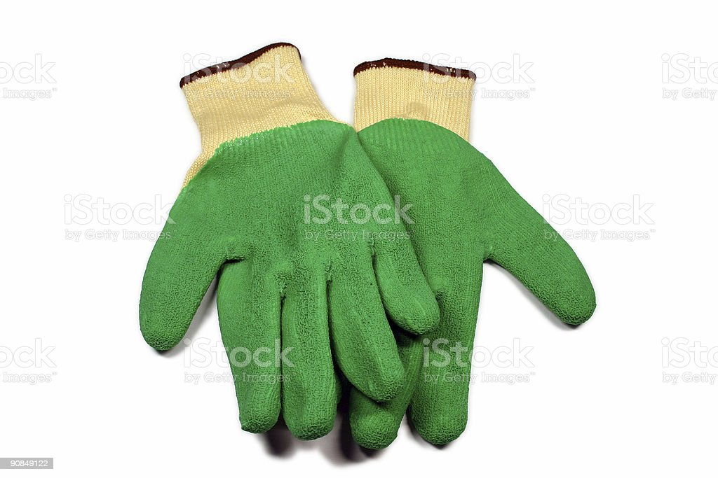 safety grip gloves royalty-free stock photo