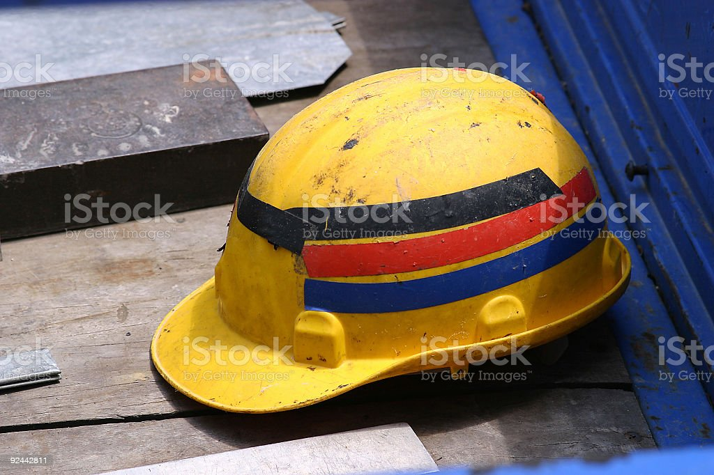 Safety Hat photo 2 royalty-free stock photo