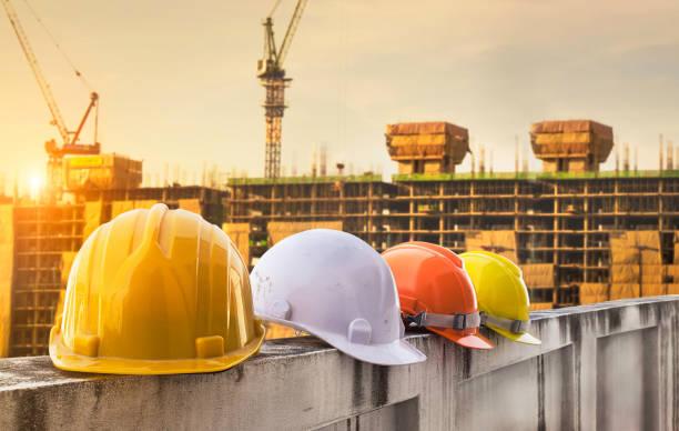 Sicherheit Helm Ingenieurwesen Bauarbeiter Ausstattung – Foto