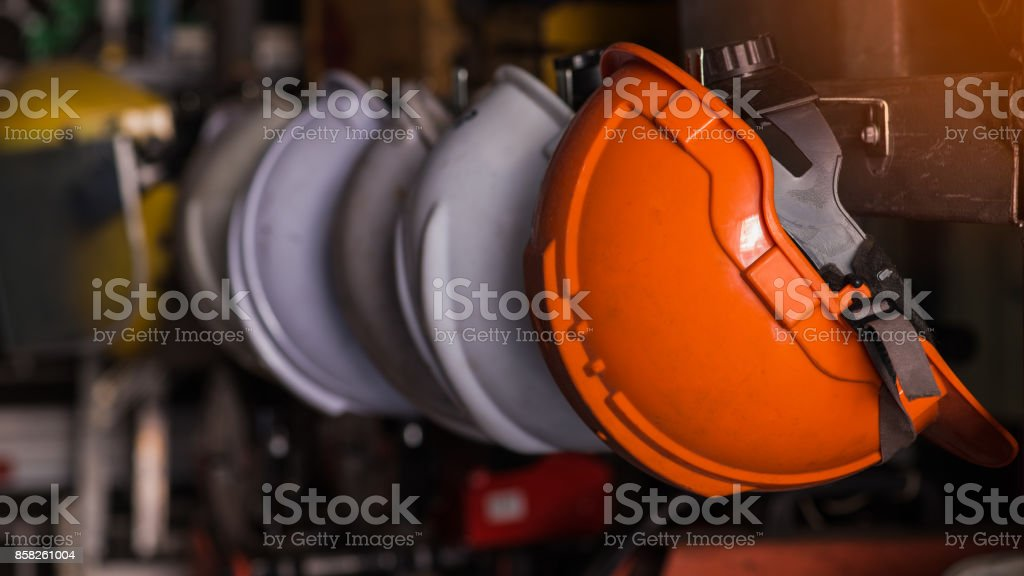 Safety helmet. stock photo