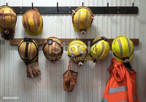 istock Safety helmets 495343052