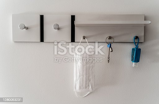 istock Safety kit to leave the house at times of COVID-19 1280053231