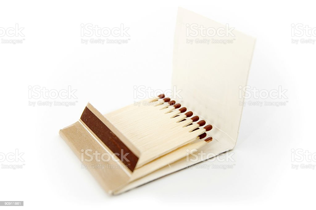 Safety matches stock photo