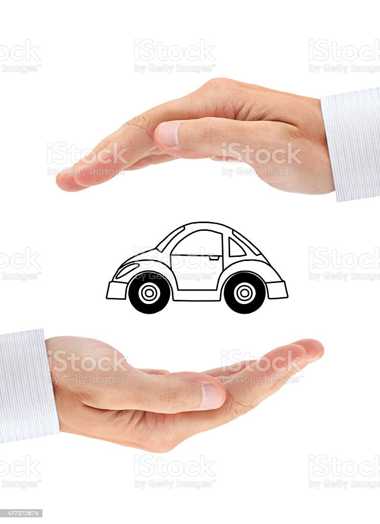 Safety of your car stock photo