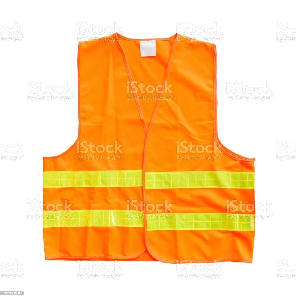 Sicherheits-orange-Weste – Foto