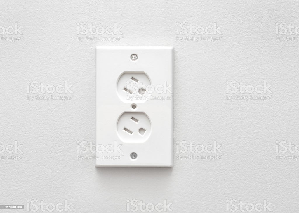 Safety Outlet stock photo