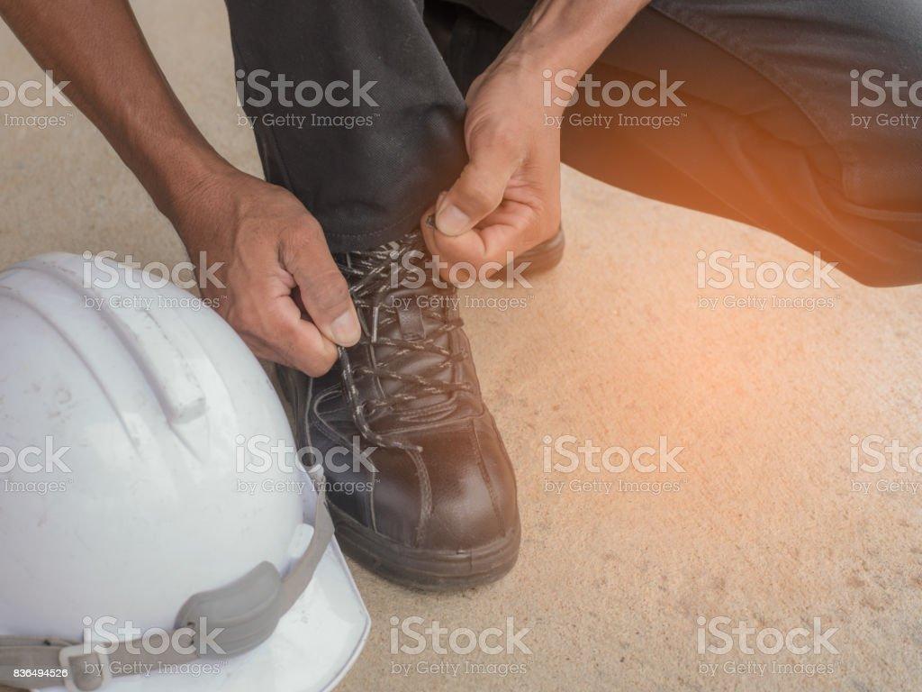 Safety. stock photo