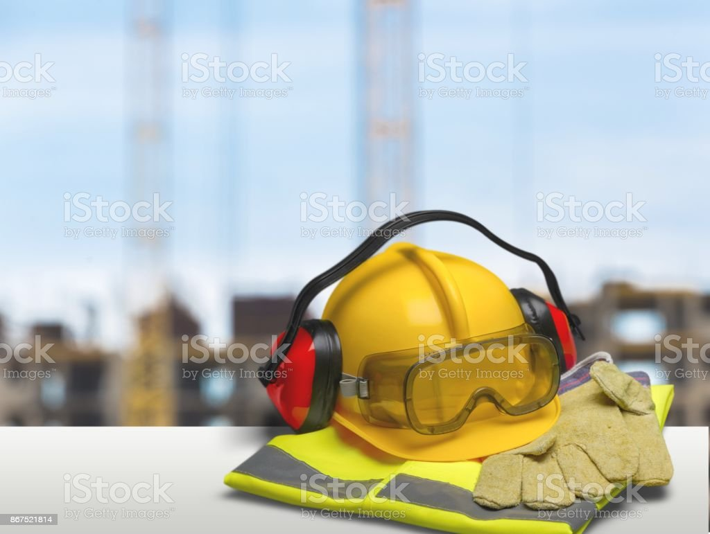 Safety. stock photo
