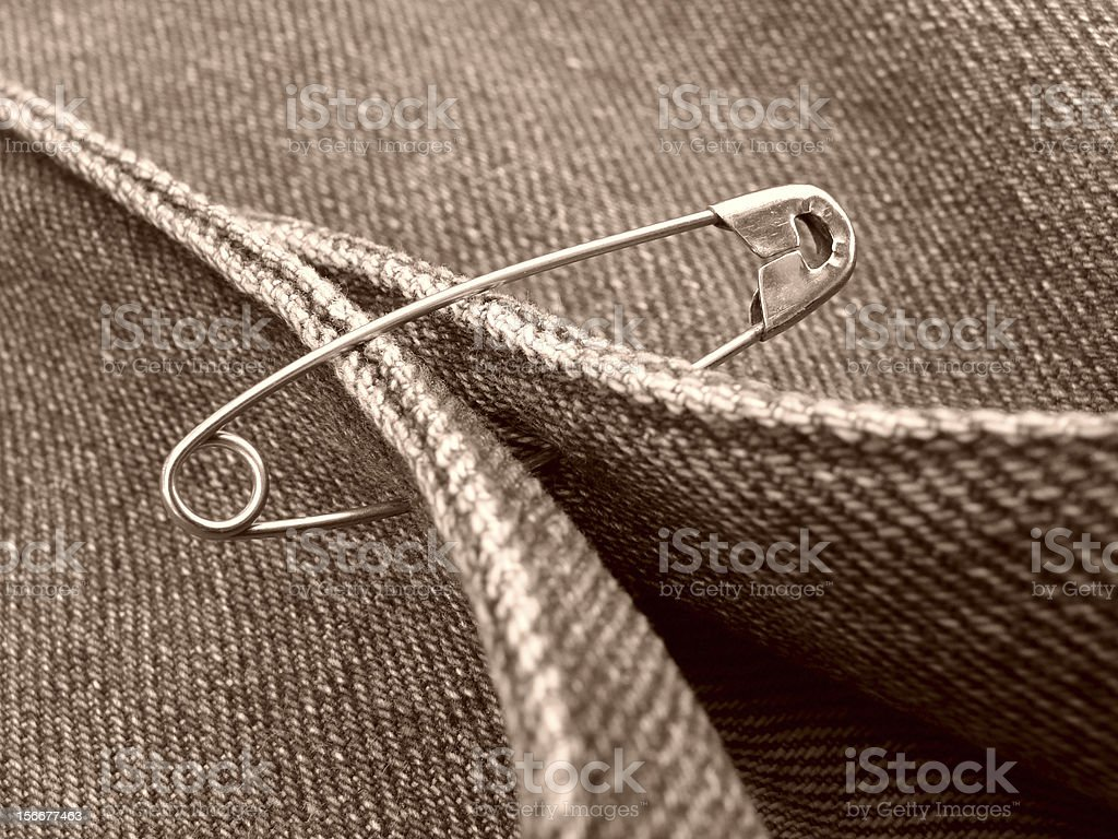 safety pin royalty-free stock photo