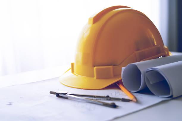 Sicherheitsprojekt des Arbeiters als Ingenieur – Foto