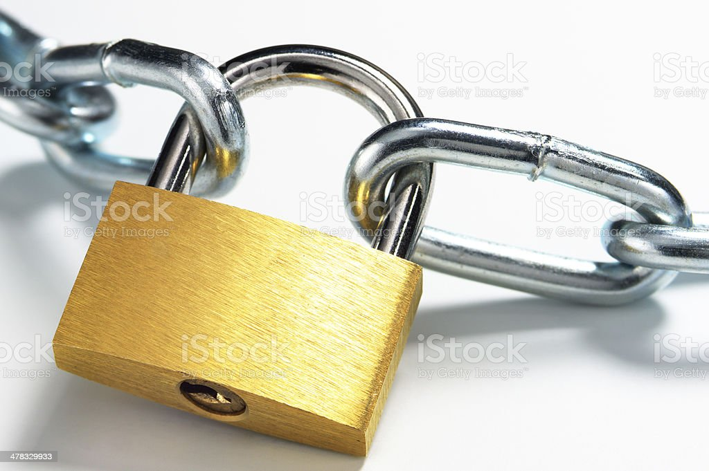 Safety protected. royalty-free stock photo