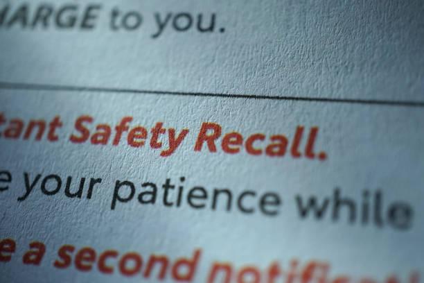 Cтоковое фото safety recall