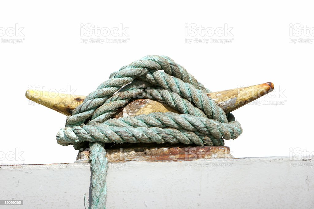 Safety rope royalty-free stock photo