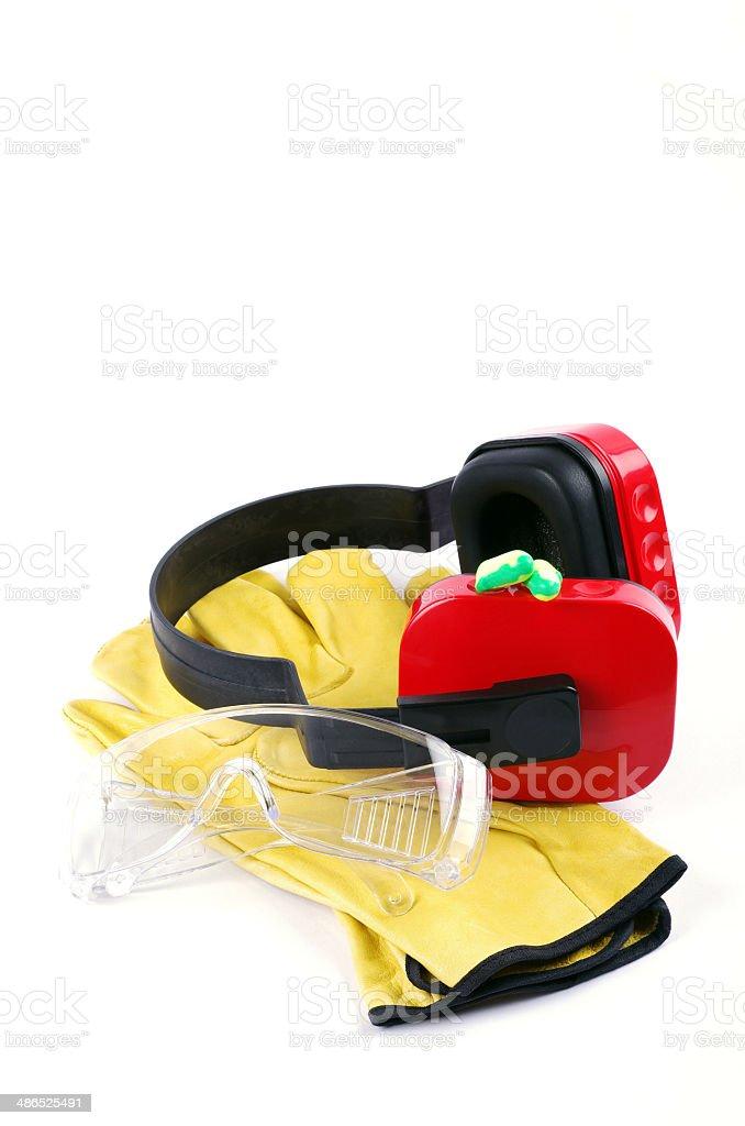 safety work wear stock photo