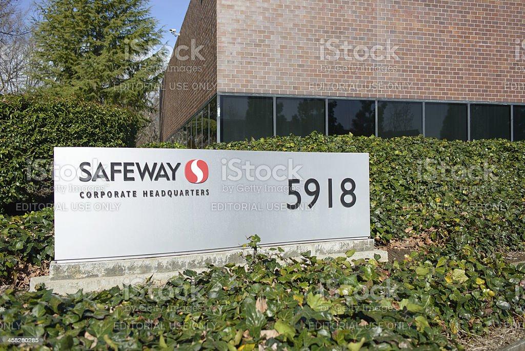 Safeway Headquarters royalty-free stock photo